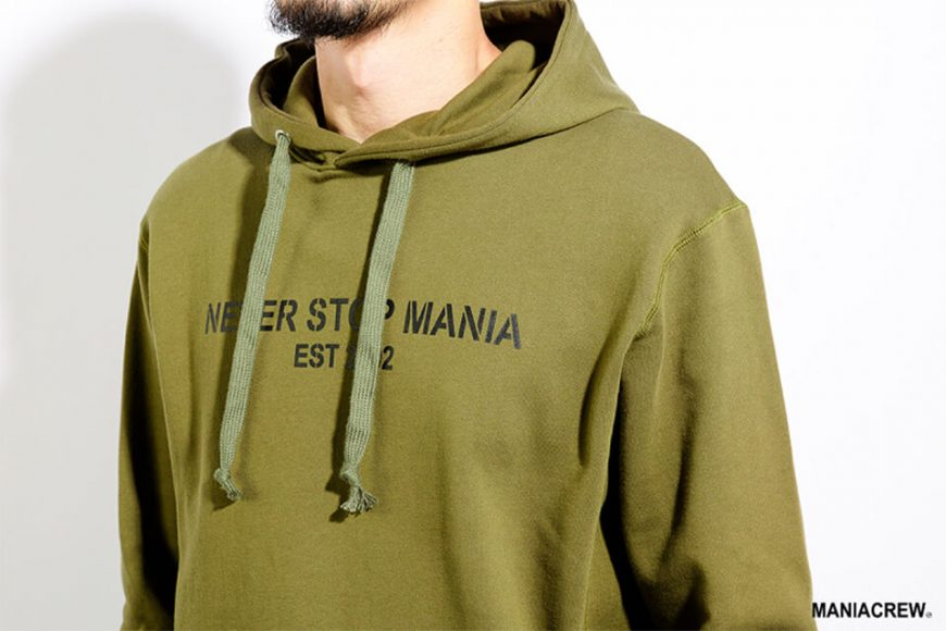 MANIA 17 AW Never Stop Hoodie (5)