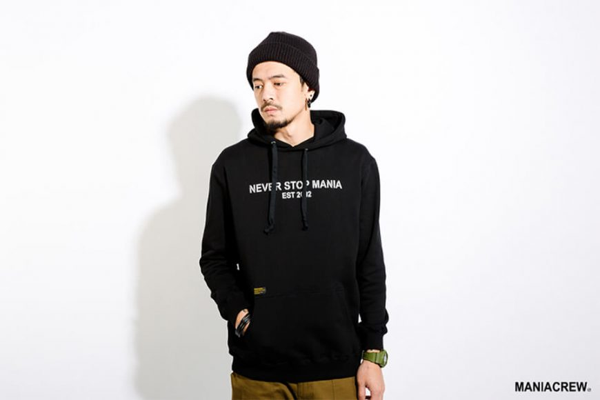 MANIA 17 AW Never Stop Hoodie (6)