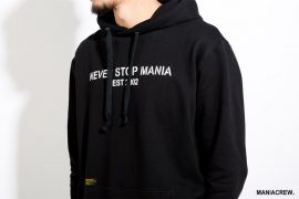 MANIA 17 AW Never Stop Hoodie (7)