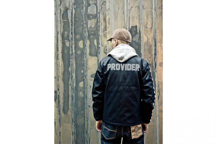 PROVIDER 17 FW Checker Coach Jacket (3)