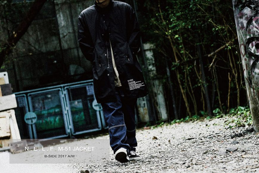 B-SIDE 17 AW BS M51 Parka (1)