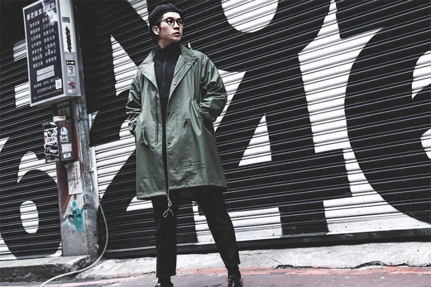 B-SIDE 17 AW BS M51 Parka (2)