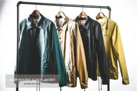 B-SIDE 17 AW Back Pocket Coach JKT (1)