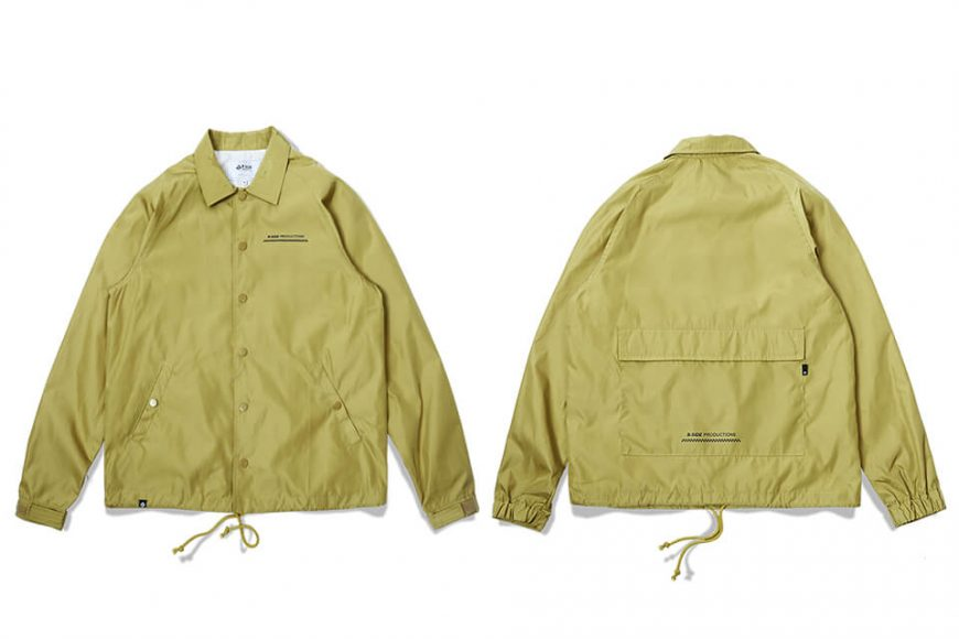 B-SIDE 17 AW Back Pocket Coach JKT (14)