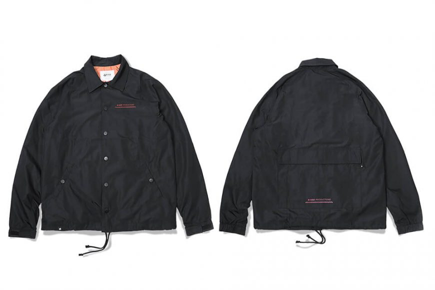 B-SIDE 17 AW Back Pocket Coach JKT (5)