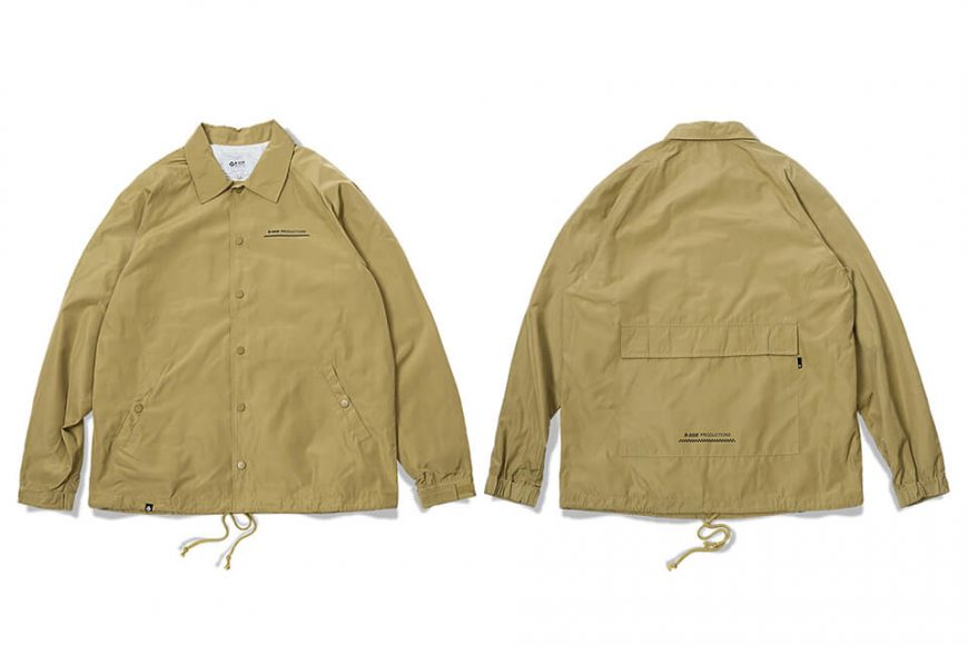 B-SIDE 17 AW Back Pocket Coach JKT (9)