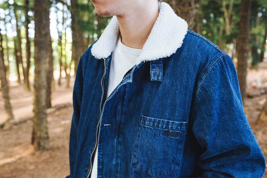 NEXTMOBRIOT 17 FW Woolneck Denim Jacket (5)