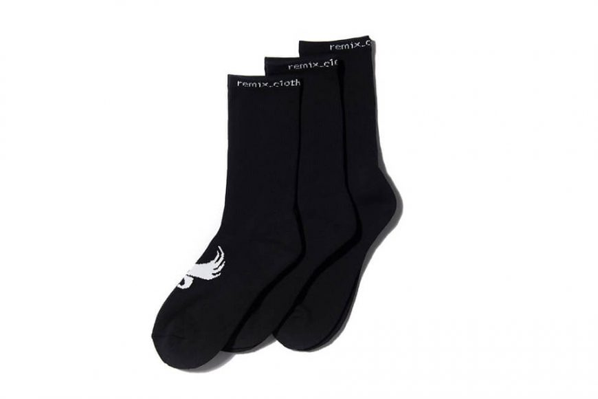 REMIX 17 AW Athletic Crew Socks 3-Pack (3)