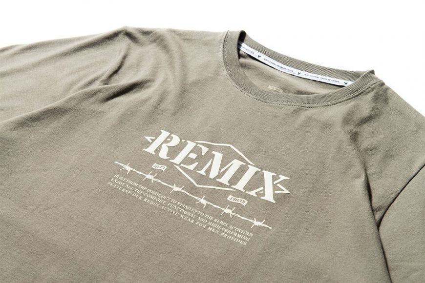 REMIX 17 AW Barbed Tee (14)