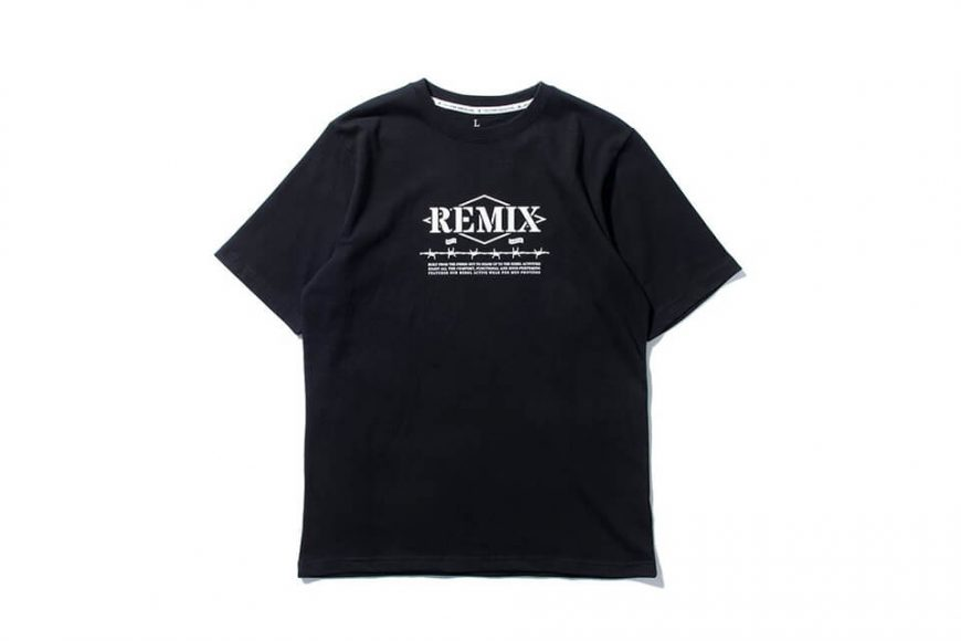 REMIX 17 AW Barbed Tee (2)