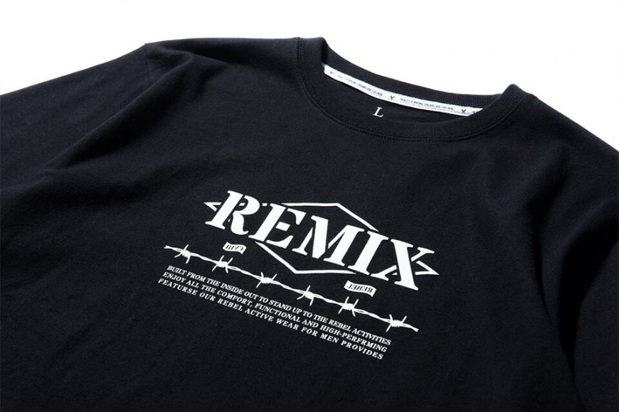 REMIX 17 AW Barbed Tee (4)
