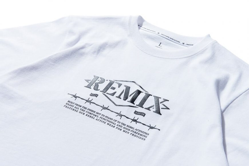 REMIX 17 AW Barbed Tee (9)