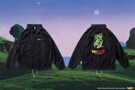 REMIX 17 AW REMIX x DRAGON BALL Z Shenron Coach Jacket (1)