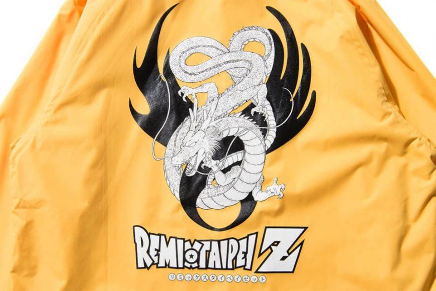 REMIX 17 AW REMIX x DRAGON BALL Z Shenron Coach Jacket (10)