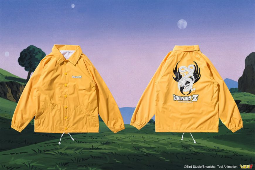 REMIX 17 AW REMIX x DRAGON BALL Z Shenron Coach Jacket (2)