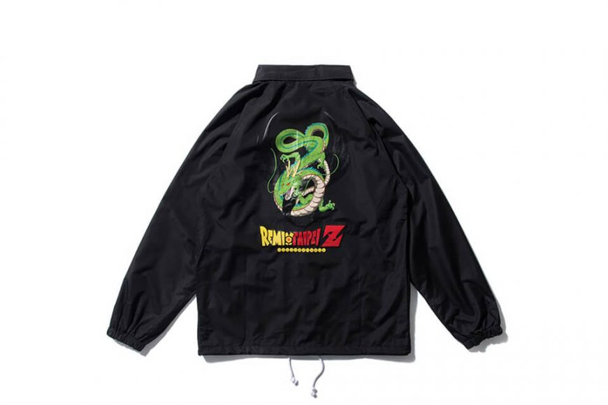 REMIX 17 AW REMIX x DRAGON BALL Z Shenron Coach Jacket (5)