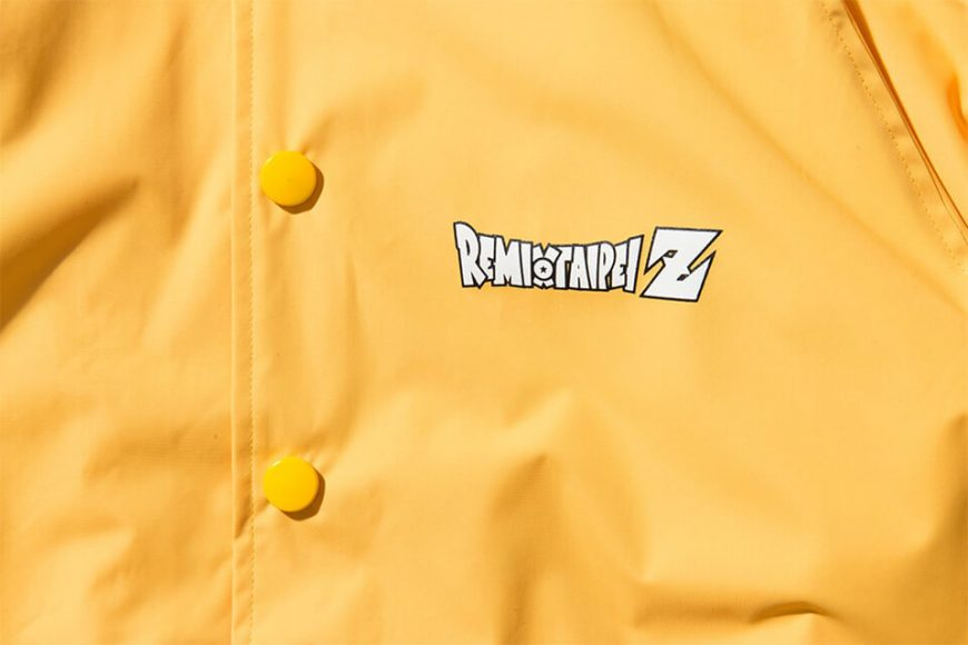 REMIX 17 AW REMIX x DRAGON BALL Z Shenron Coach Jacket (8)