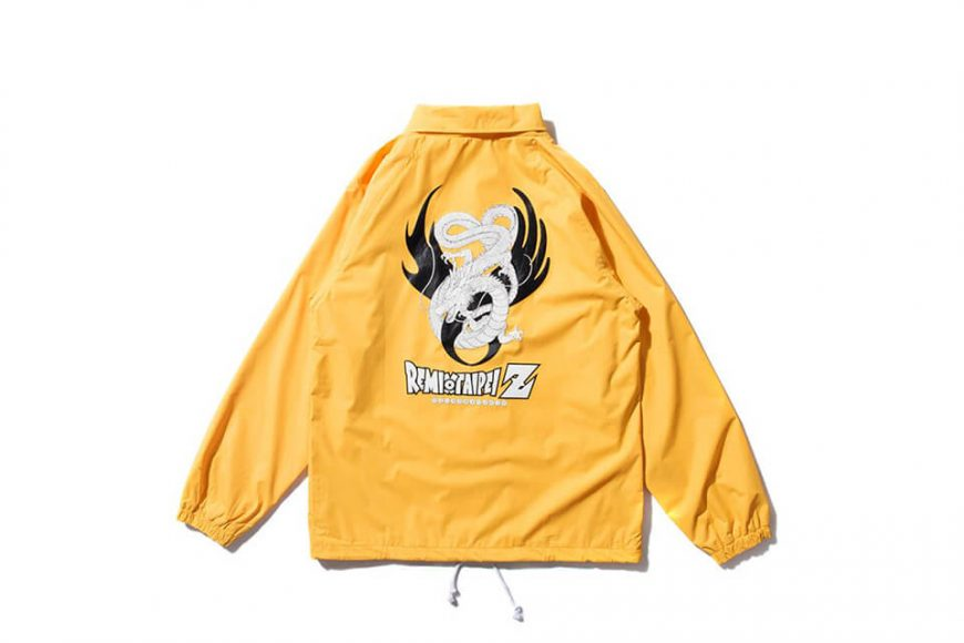 REMIX 17 AW REMIX x DRAGON BALL Z Shenron Coach Jacket (9)