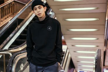 REMIX 17 AW Remix High Neck LS Tee (1)