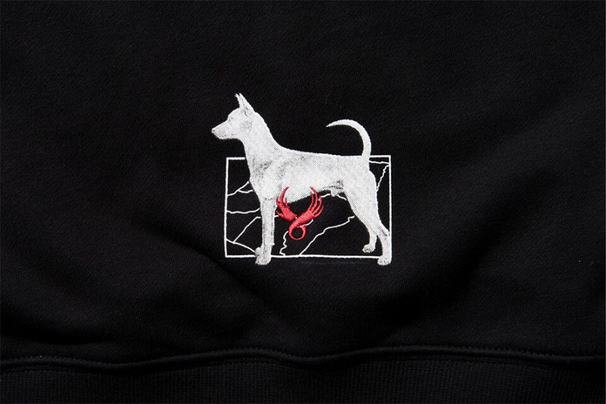 REMIX 17 AW Tw Doggy Hoody (6)