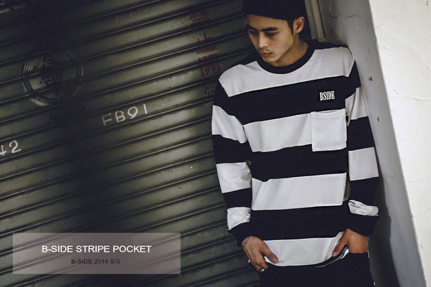 BSIDE 37(三)發售 18 SS BS STRIPE POCKET (1)