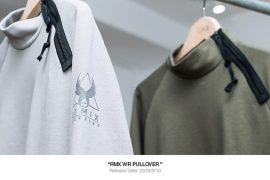 REMIX 310(六)發售 17 AW RMX WR Pullover (1)