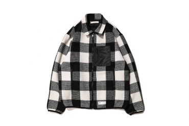 AES 428(六)發售 18 SS Black & White Check Jacket (1)