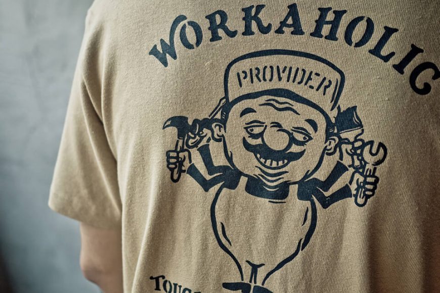 PROVIDER 516(三)發售 18 SS Workaholic Tee (12)