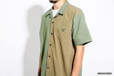 MANIA 62(六))發售 18 SS Open Collar Shirt (4)