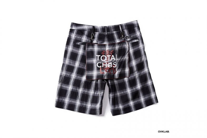 OVKLAB 68(五)發售 18 SS Plaid Shorts (3)
