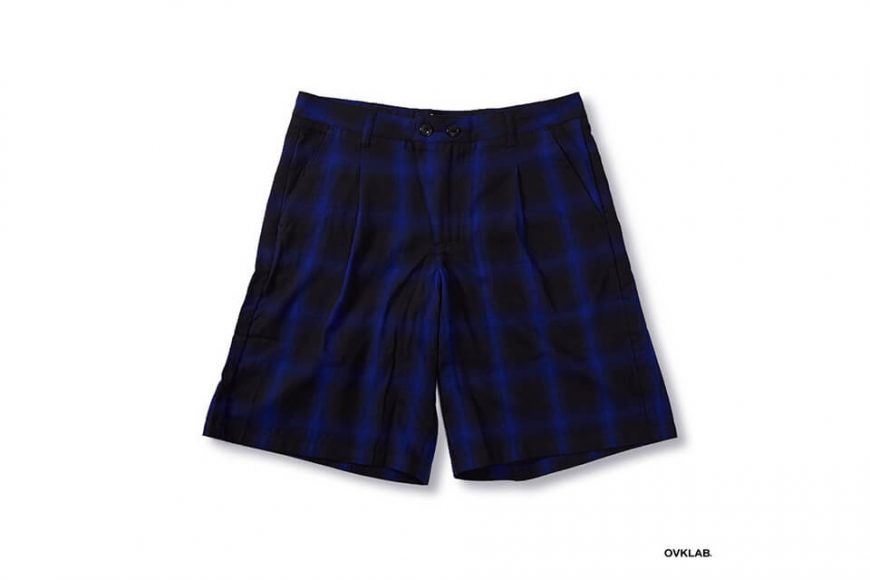 OVKLAB 68(五)發售 18 SS Plaid Shorts (4)