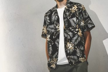 B-SIDE 18 SS Paradise Hawain Shirt (1)
