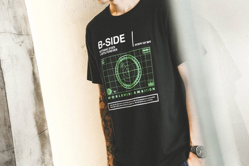 B-SIDE 18 SS Radar Tee (1)