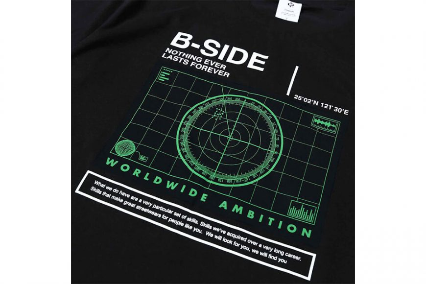 B-SIDE 18 SS Radar Tee (10)