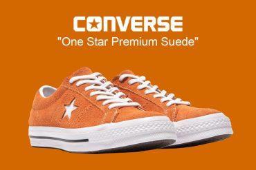 CONVERSE 18 FW 161574C One Star Premium Suede (1)