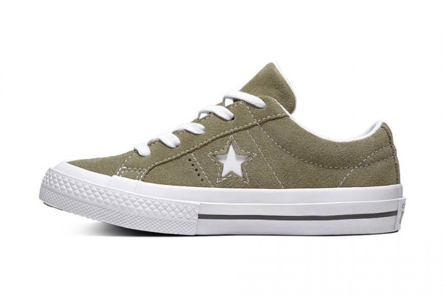 CONVERSE 18 FW 161576C One Star Premium Suede (4)