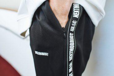NextMobRiot 818(六)發售 18 SS MOB Logo Training Pants (5)