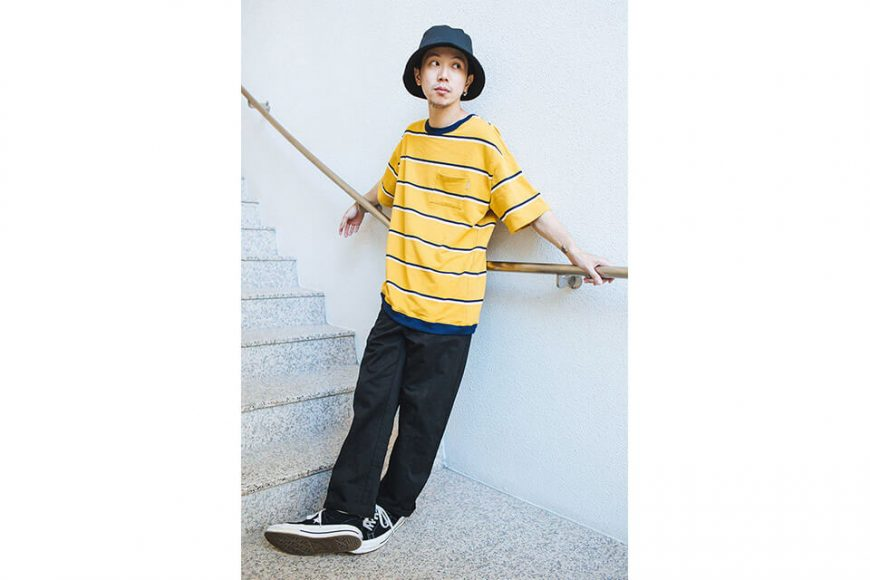 NextMobRiot 88(三)發售 18 SS Cursive Stripe Pocket OVS Tee (5)