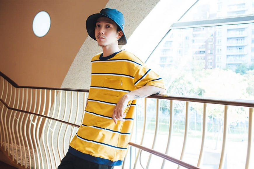 NextMobRiot 88(三)發售 18 SS Cursive Stripe Pocket OVS Tee (7)