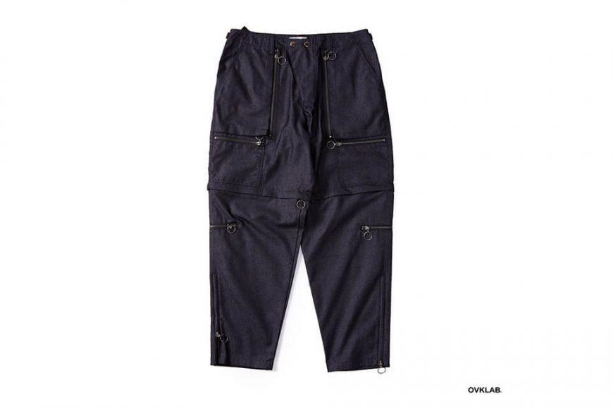 OVKLAB 84(六)發售 18 SS Waterproof Denim Army Trousers (11)