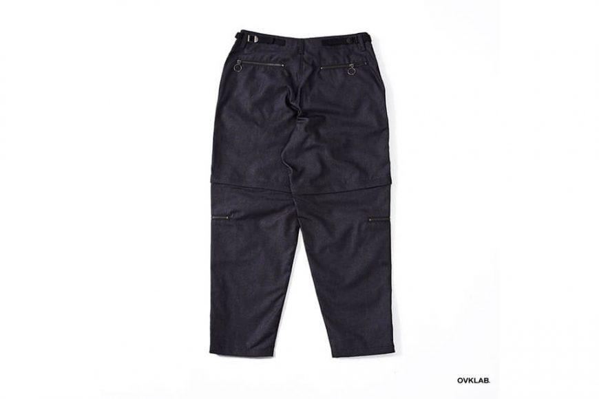 OVKLAB 84(六)發售 18 SS Waterproof Denim Army Trousers (12)