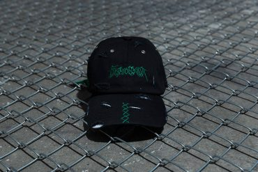 NextMobRiot 98(六)發售 18 SS NMR15th x FASHION KILLA DAMAGE NIGHTMARE LOGO CAP (1)
