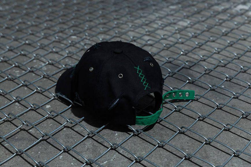 NextMobRiot 98(六)發售 18 SS NMR15th x FASHION KILLA DAMAGE NIGHTMARE LOGO CAP (3)