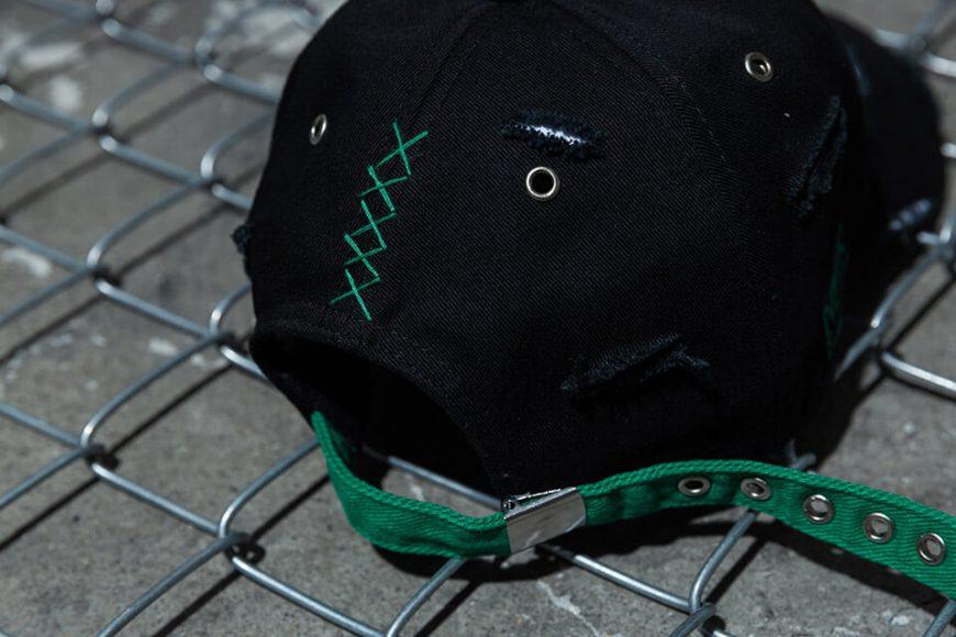 NextMobRiot 98(六)發售 18 SS NMR15th x FASHION KILLA DAMAGE NIGHTMARE LOGO CAP (6)