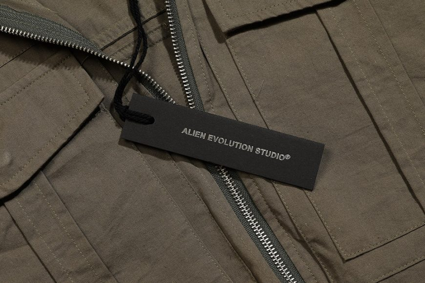 AES 1027(六)發售 18 AW Aes Military Zip Shirt (3)