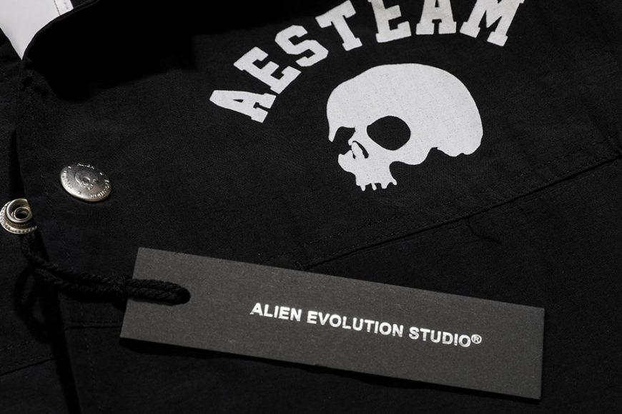 AES 1027(六)發售 18 AW Aes Skull Logo Coach Jacket (10)