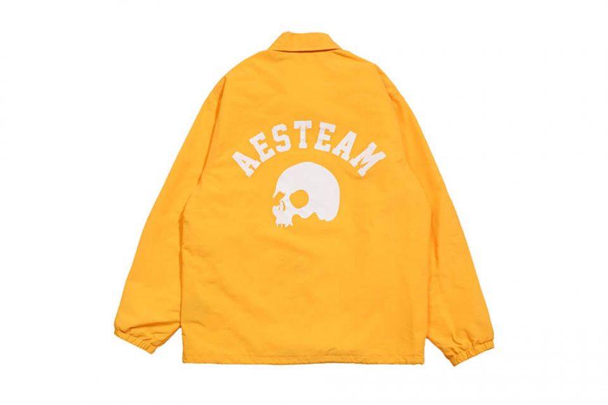 AES 1027(六)發售 18 AW Aes Skull Logo Coach Jacket (5)