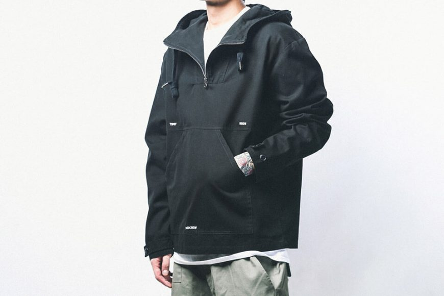B-SIDE 18 AW Utility Pullover JKT (3)