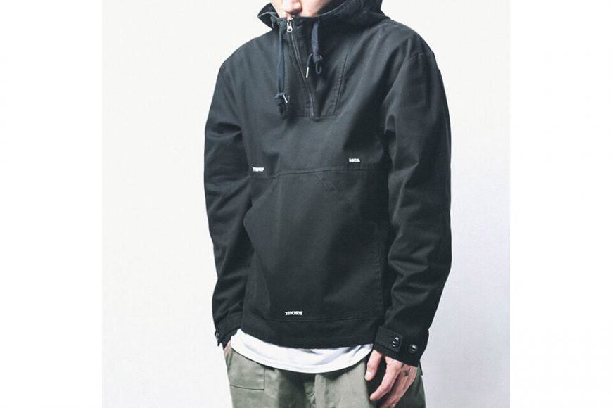 B-SIDE 18 AW Utility Pullover JKT (5)