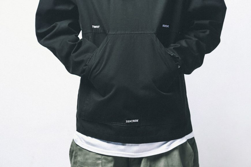 B-SIDE 18 AW Utility Pullover JKT (6)